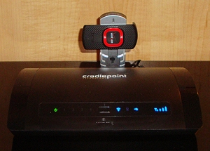 CradlePoint MBR95 with UML290 USB Modem