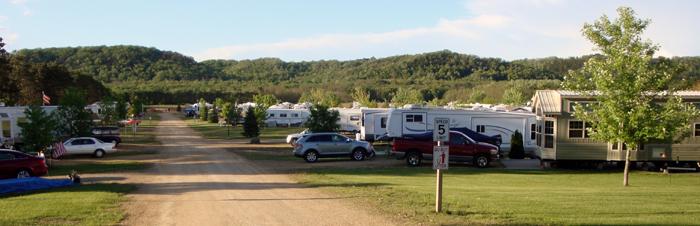 Lake Pepin Campground