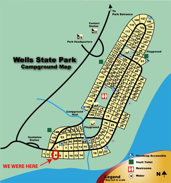 Jw Wells State Park Stephenson Mi Rvseniormoments
