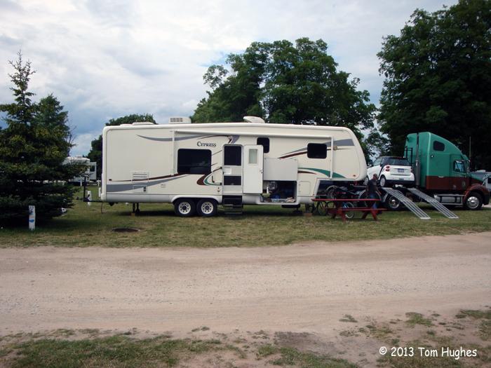 Woodland Park Campground — Grand Marais, MI | rvSeniorMoments