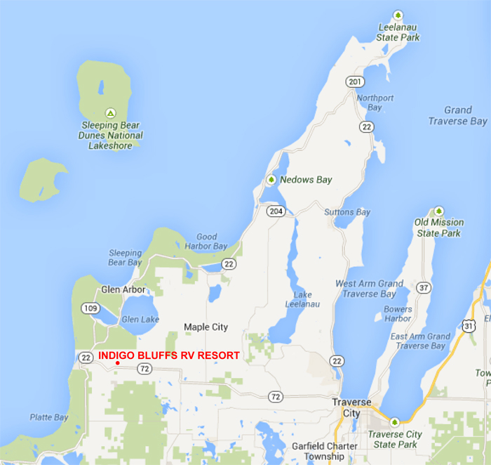 Michigan's Gold Coast?