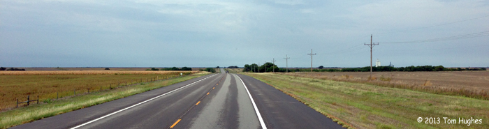 Heading West on Highway 36