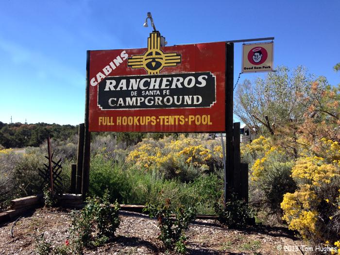 Rancheros De Santa Fe Campground Santa Fe Nm