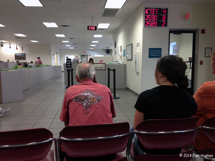 The AZ DMV -- Our Path to Residency