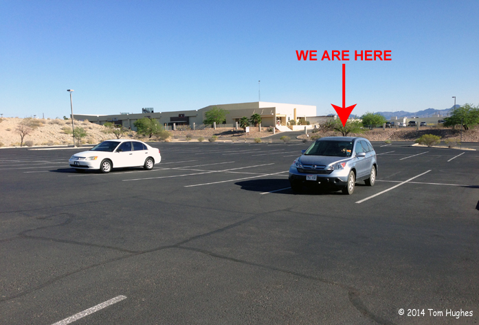The AZ DMV Parking Lot was Full When We Arrived
