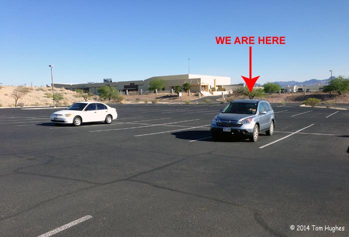 The AZ DMV Parking Lot was Full When We Arrived