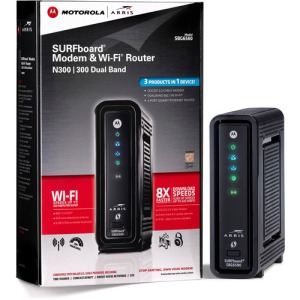 Our New Cable Modem for Our Park Model