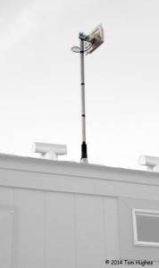 Our Park Model's Microwave Radio Internet Antenna