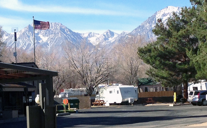View from Highland's RV Park