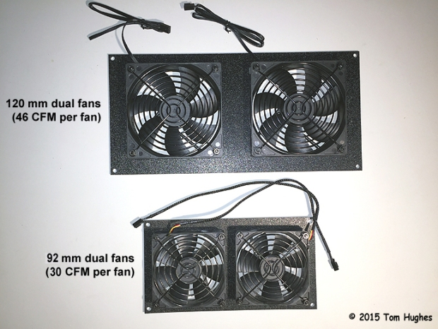 120mm vs 92mm Fans