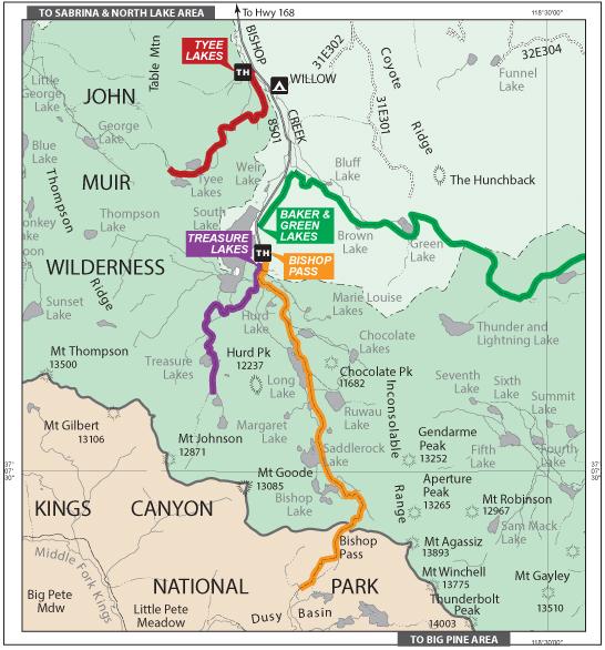 South Lake Trails