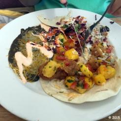 Fish-Mango Taco