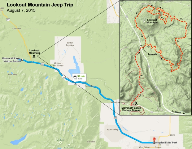 Lookout Mountain Jeep Trip
