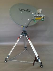 RTC's SpaceWay Spot Beam Sat Dish