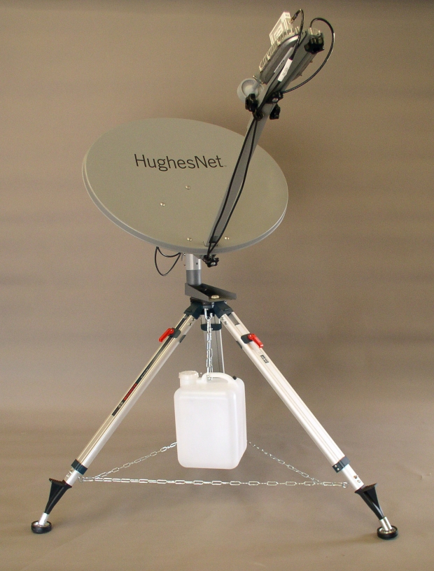 RTC KA Portable .74 M Dish (click to enlarge)