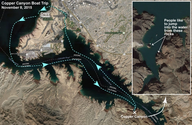 Copper Canyon Boat Trip